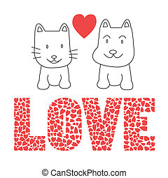 Love cat and dog