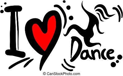 Creative design of love dance