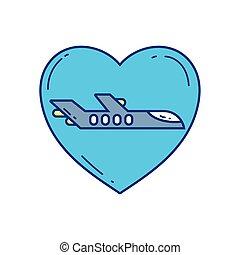 love plane travel aviation transport airport