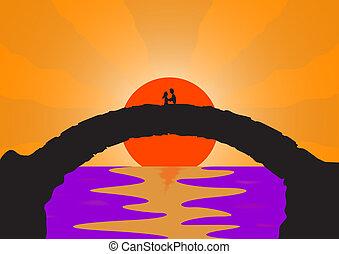 Lover's Stone bridge