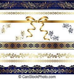 Luxury Design Elements Set