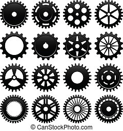 16 specially designed cogwheel for machinery usage.
