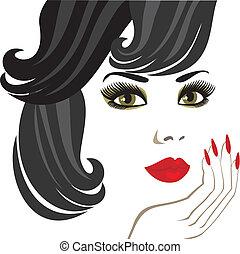 makeup for brunette