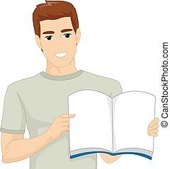 Man Book Storytelling