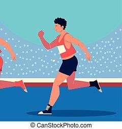 man race track