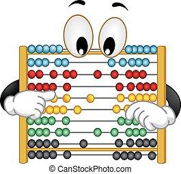 Mascot Abacus Rearrange Beads