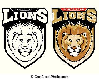 Mascot Lions.