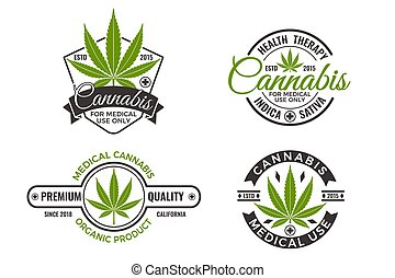 Medical Cannabis Labels and Logos