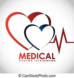 medical design, vector illustration eps10 graphic