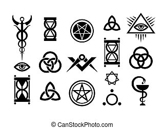 Medieval Occult Signs And Magic Stamps (pre-release)