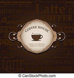Menu for restaurant, cafe, bar, coffeehouse.