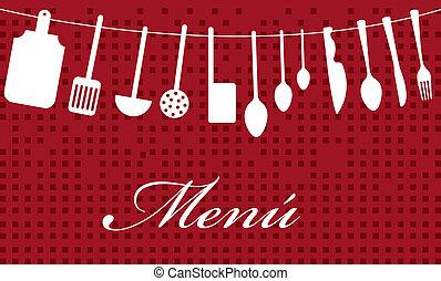 menu vector