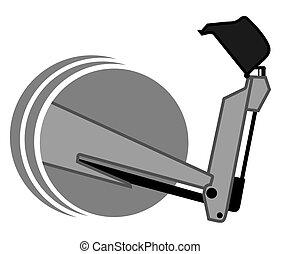 Creative design of metal arm