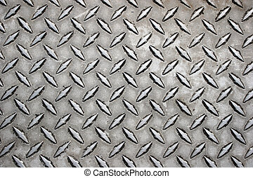 Close up of metal surface.