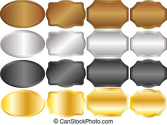 metallic backgrounds gold silver