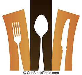 Modern Cutlery Symbol
