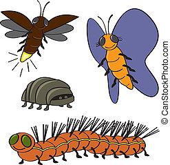 More Cartoon Bugs