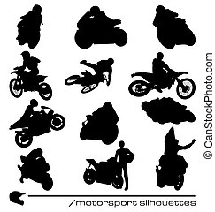 motorsport silhouettes collection