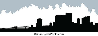New Orleans Silhouette
