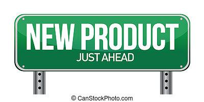 new product road sign illustration design