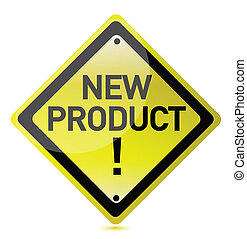 New product sign