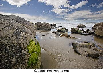New Zealand - Moeraki Boulders