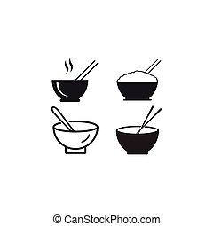 Noodle bowl logo