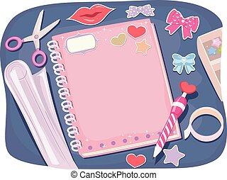 Notebook Designing