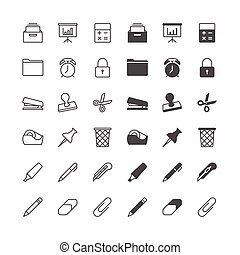 Simple vector icons. Clear and sharp. Easy to resize. Included normal and enable state.