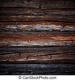 old logs background