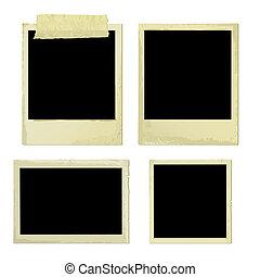 Old Photo Frames (vector)