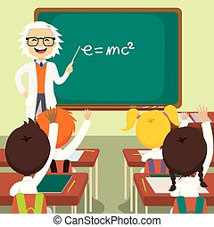 Old Science Teacher