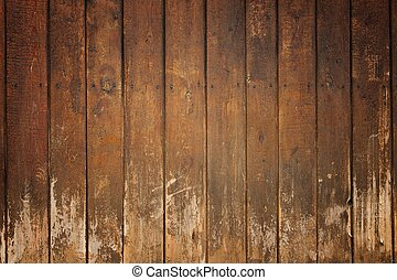 Abstract brown old wooden grunge background