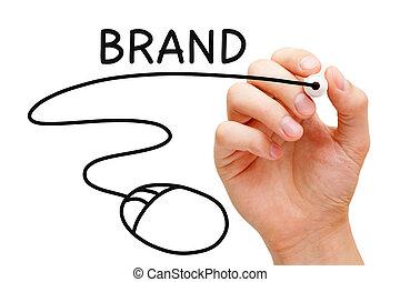 Online Branding Mouse Concept