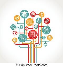 Online Education Tree