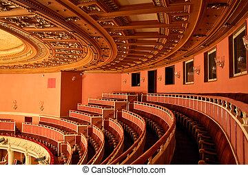 Opera House Interior - Seating