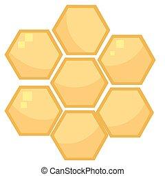 Orange Bee Hives