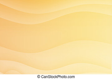 Orange Soothing Calming Curves Abstract Background