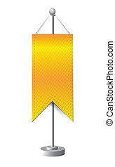 orange stand banner template