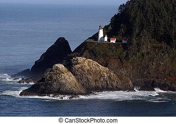 Oregon Lighthouse.