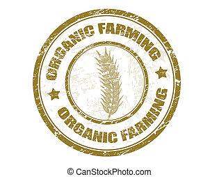 organic farming stamp