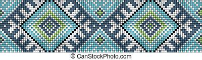 Ornament, seamless vector pattern
