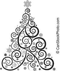 ORNATE CHRISTMAS TREE
