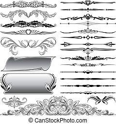 ornate floral design elements