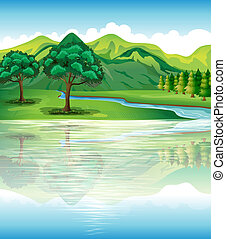 Illustration of our natural land and water resources
