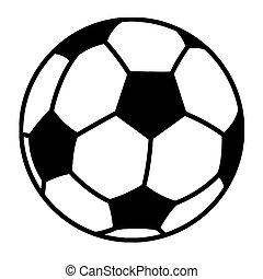 Soccer Ball Cartoon Character