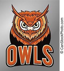 Owls mascot