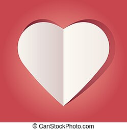 Paper Cut Out Heart