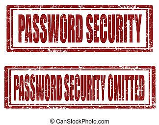 Password security stamps