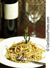 pasta meal on a plate